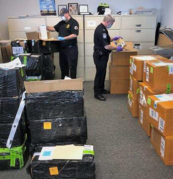 CBP and FDA work together to inspect items being imported into the U.S.