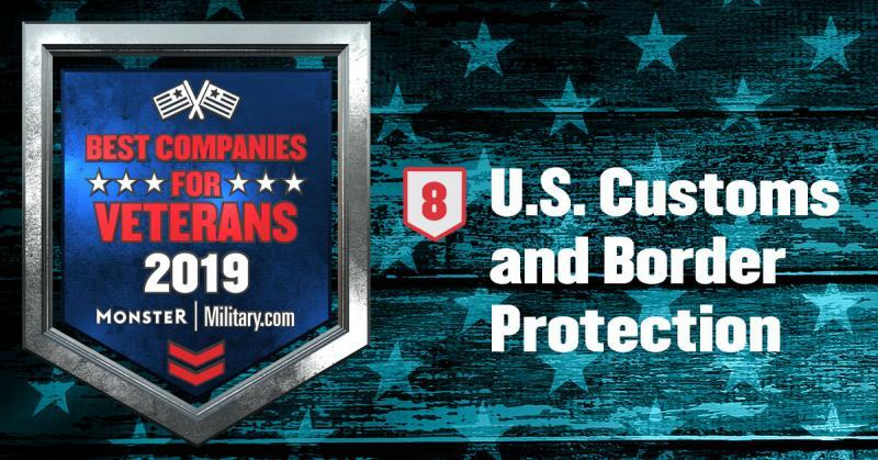 CBP nmed a best company for veterans.
