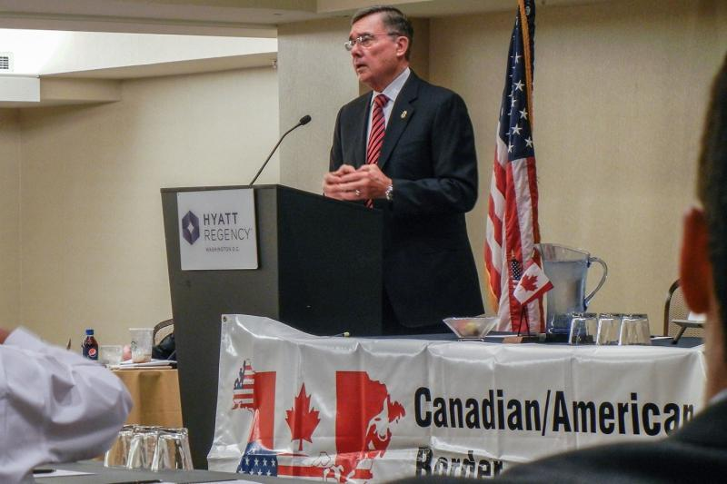 Commissioner Kerlikowske outlines a broad range of programs and initiatives to strengthen security, trade and travel with Canada.