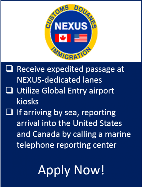 Nexus Eligibility U S Customs And Border Protection