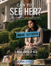 Human Trafficking - Domestic Servitude Poster