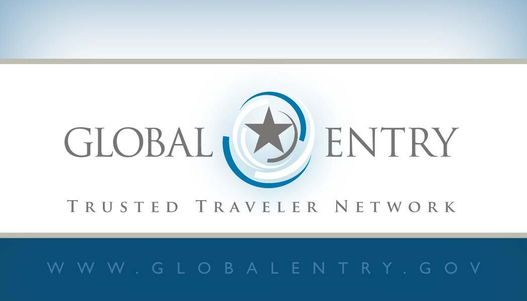 Front Global Entry Business Card