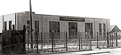 East Boston Immigration Station, 287 Marginal Street. Opened in 1920.