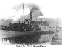 The Planter before it was retrofitted as a gunboat.
