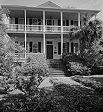 Home of Robert Smalls in Beaufort, SC, that had belonged to his former master.  Smalls' purchase of the house was contested in court and was decided in his favor by the U.S. Supreme Court.
