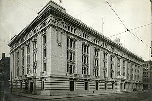 San Francisco Customhouse as it appeared in 1912.