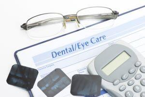 Budget personal financial record of optometry and dental expenses