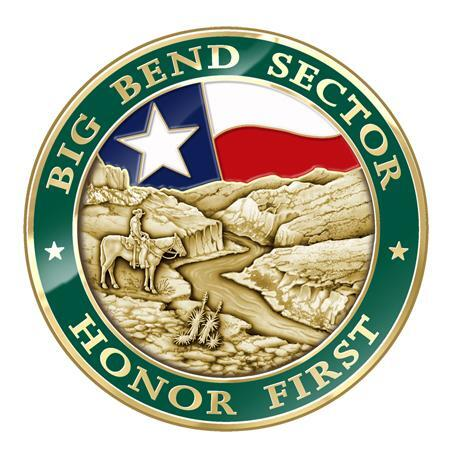 Front of Big Bend Challenge Coin