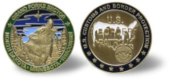 Grand Forks Sector Challenge Coin
