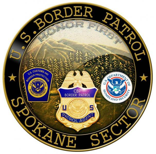 Spokane Sector Coin Front