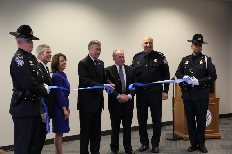 Commissioner R. Gil Kerlikowske, CBP, alongside local, state and federal officials and invited guests were on hand for the official ceremony dedicating this combined facility.