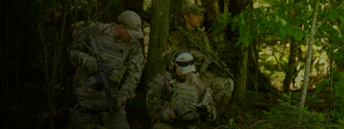 U.S. Border Patrol Tactical Unit Operators: highly trained and specially equipped tactical unit for specialized rapid response.