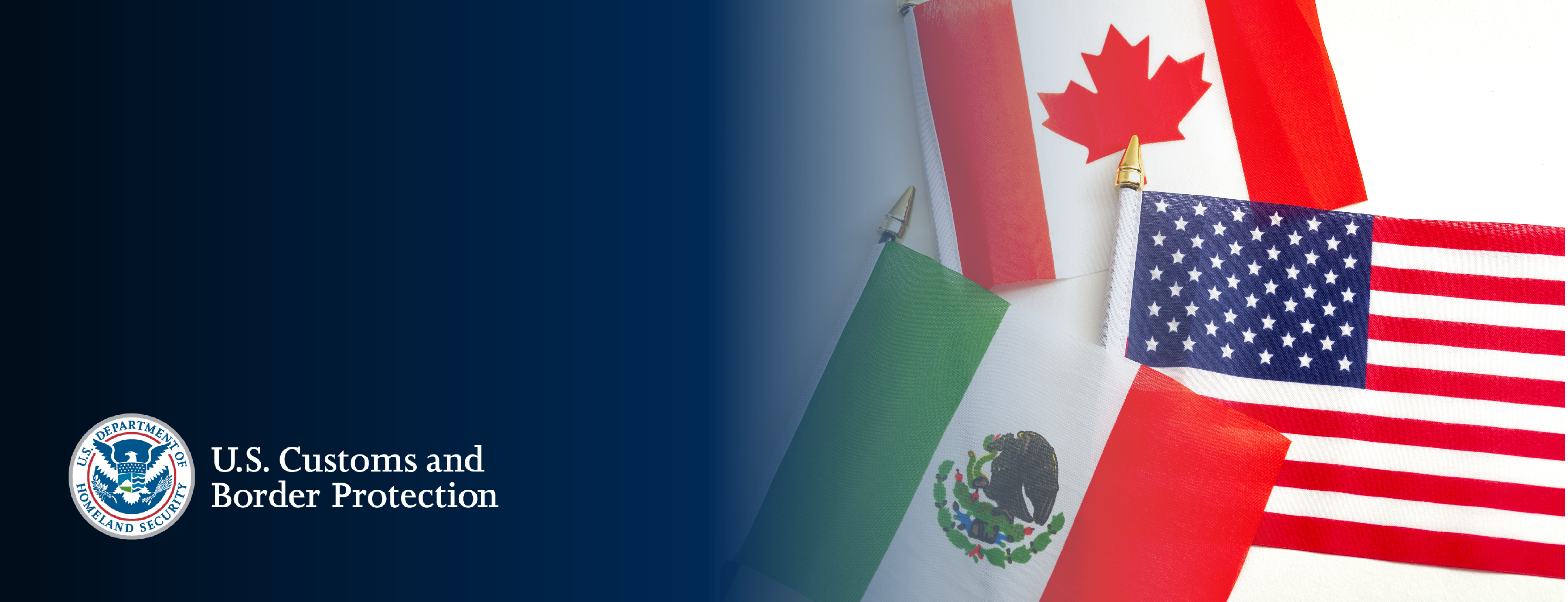 The U.S. - Mexico - Canada Agreement (USMCA) Banner