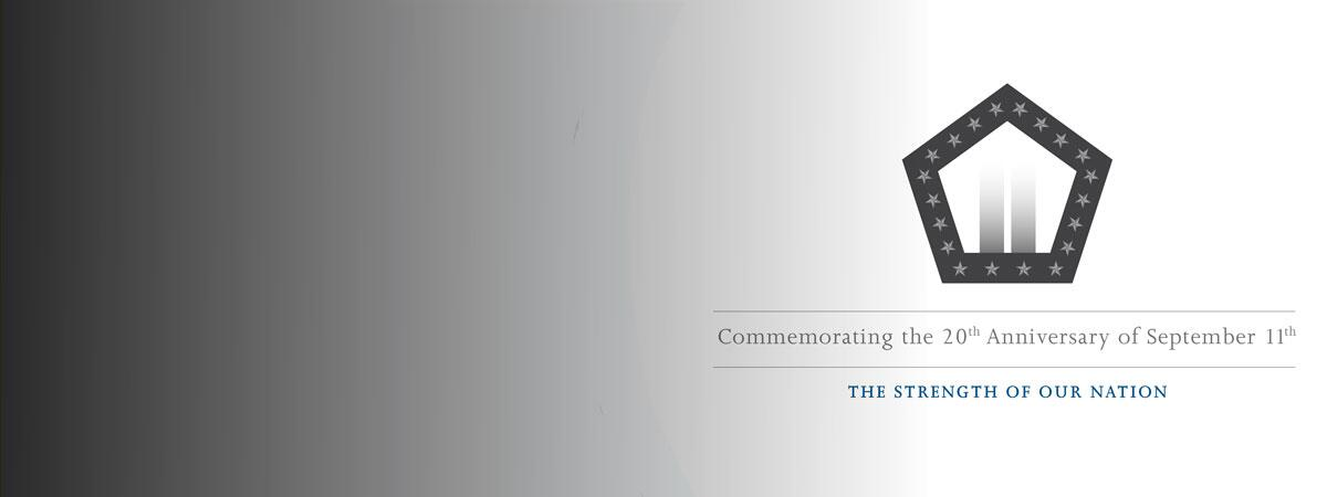 """graphic stating, """"Strength of our Nation: CBP commemorates 20th anniversary of September 11"""""""