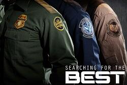The three operational uniforms of CBP