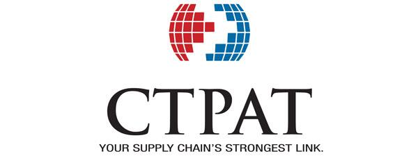 CTPAT Trademark Your Supply Chain's Strongest Link logo