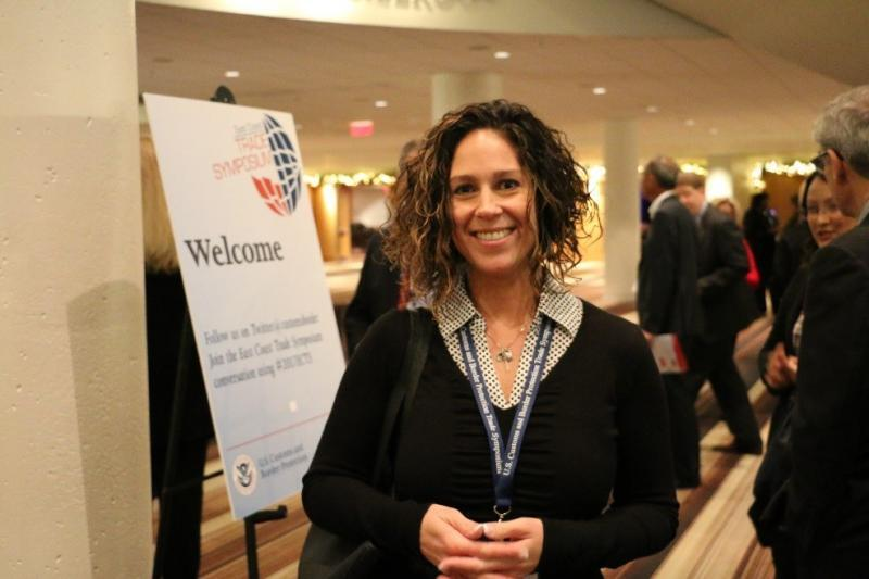 Sundra Glennon, manager of international logistics at bookseller Barnes & Noble, Inc., attended the East Coast Trade Symposium to hear about CBP's new policies and vision going forward.