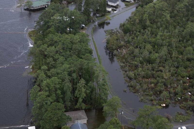 Flooding in North Carolina after Hurricane Florence