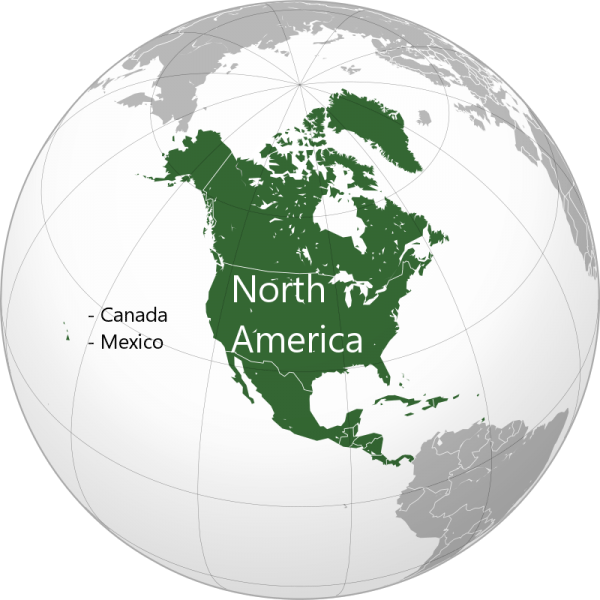 North America - Canada, Mexico