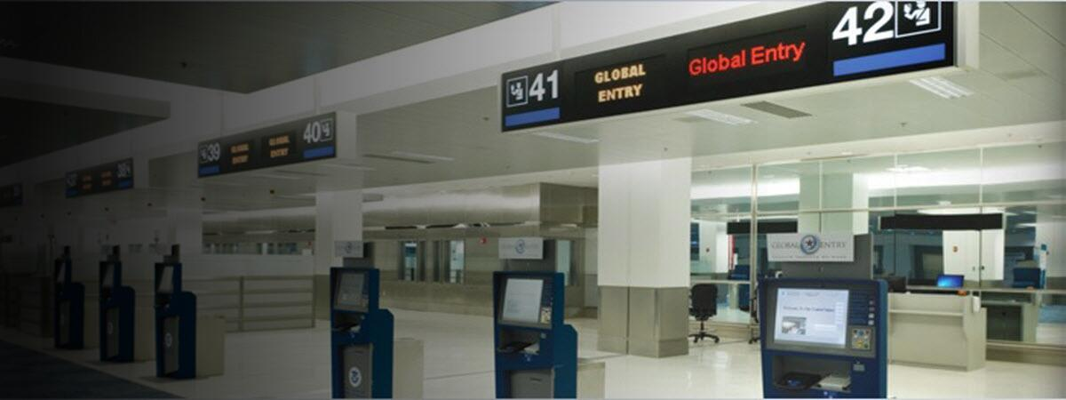 Global Entry Kiosks