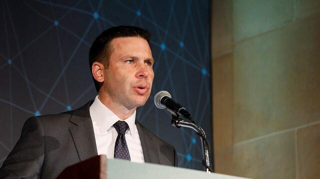 CBP Commissioner Kevin McAleenan spoke Tuesday at the U.S. Chamber of Commerce's 6th Annual Global Supply Chain Summit. Photo by Donna Burton