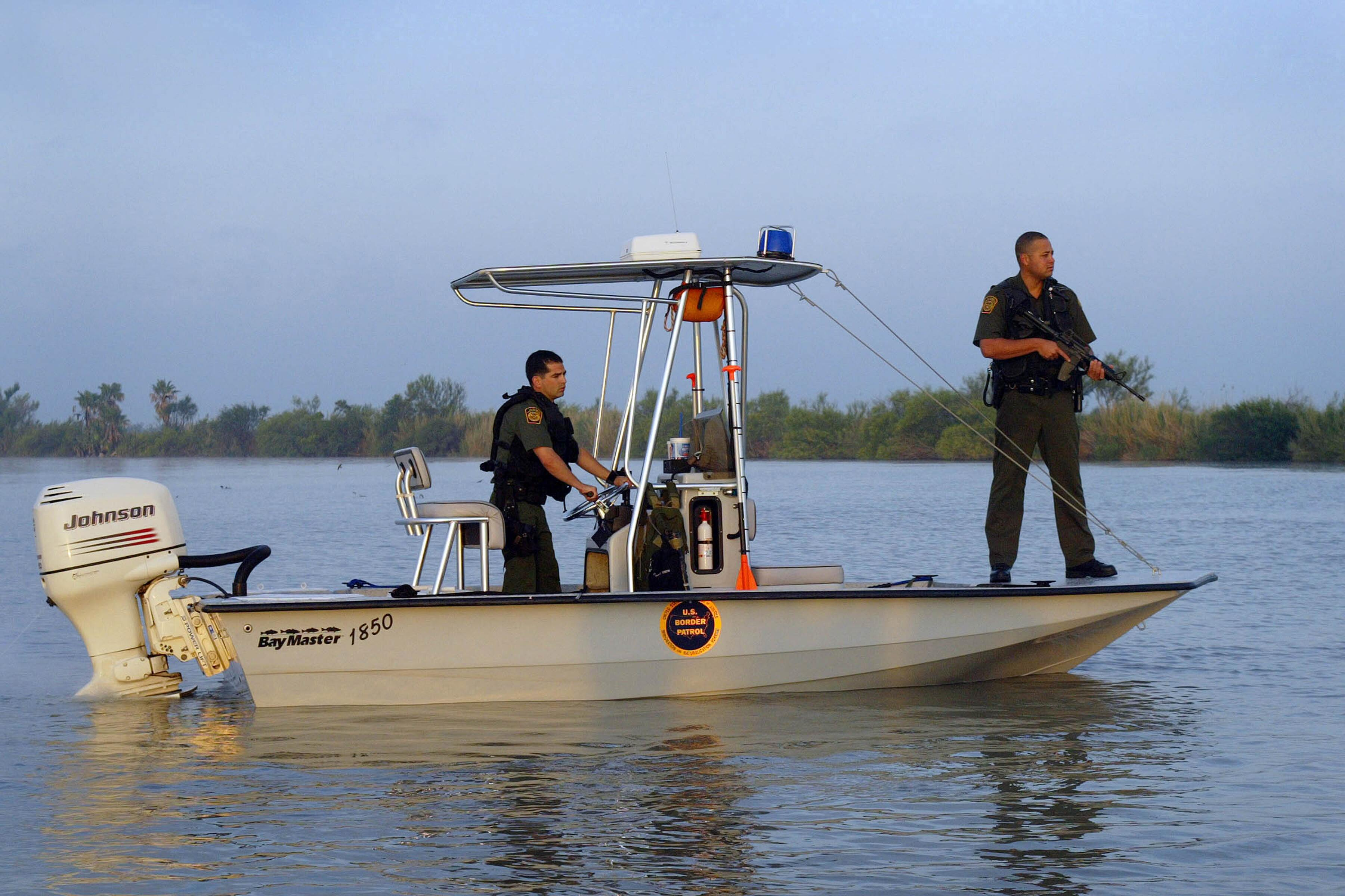 U.S. Border Patrol Marine units patrol the waterways of our Nation's borders.