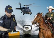 Photo of the operational components of CBP
