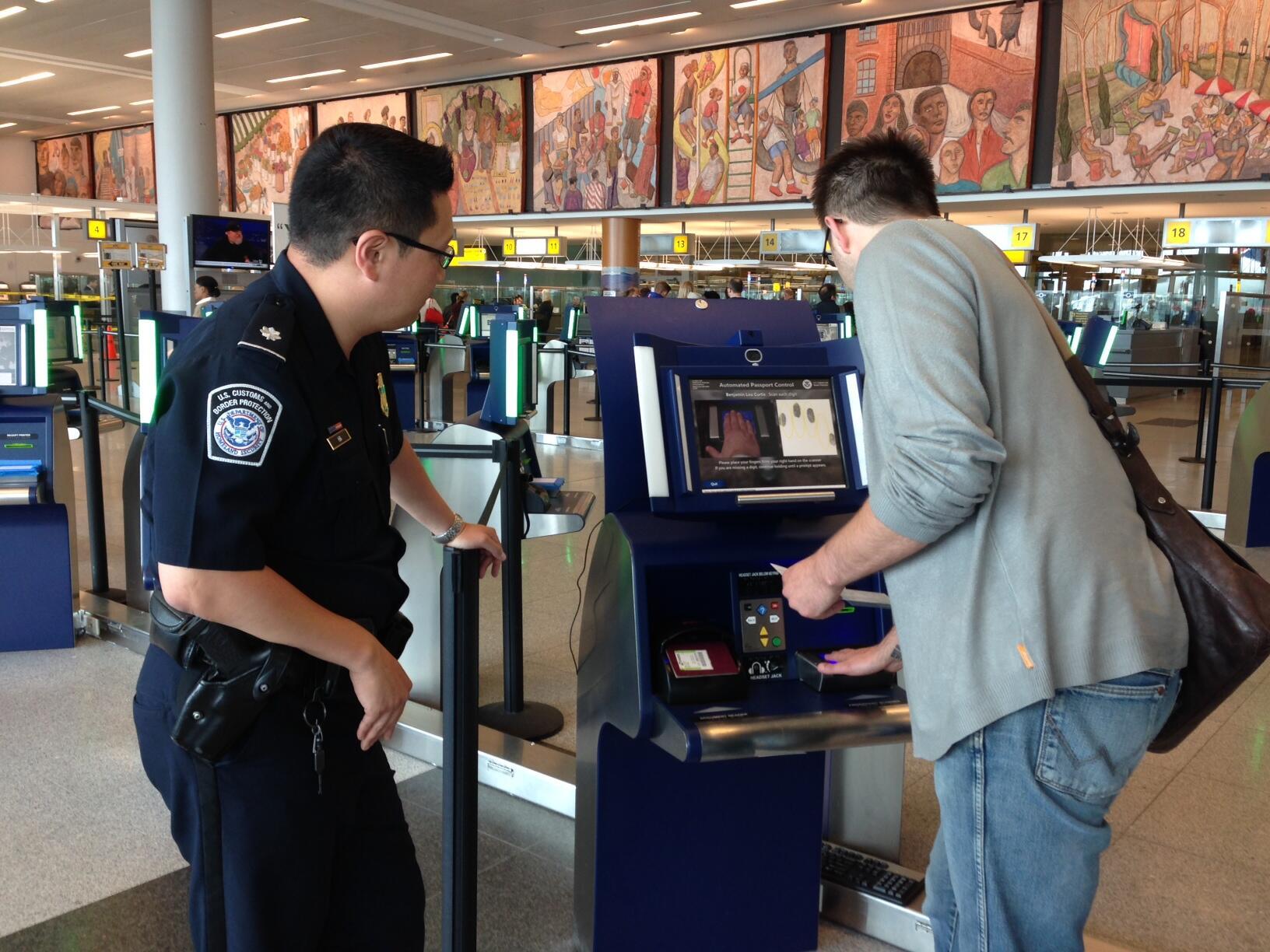 APC Kiosks at John F. Kennedy International Airport