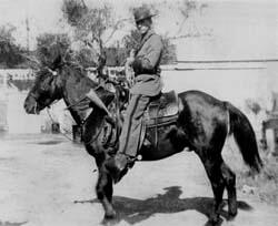 Border Patrol Agent on Horseback