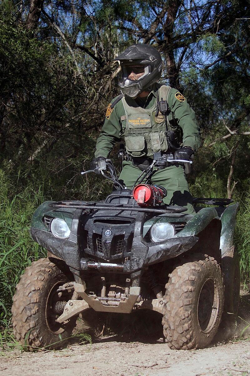 Mcallen Atv Patrol Unit Db U S Customs And Border