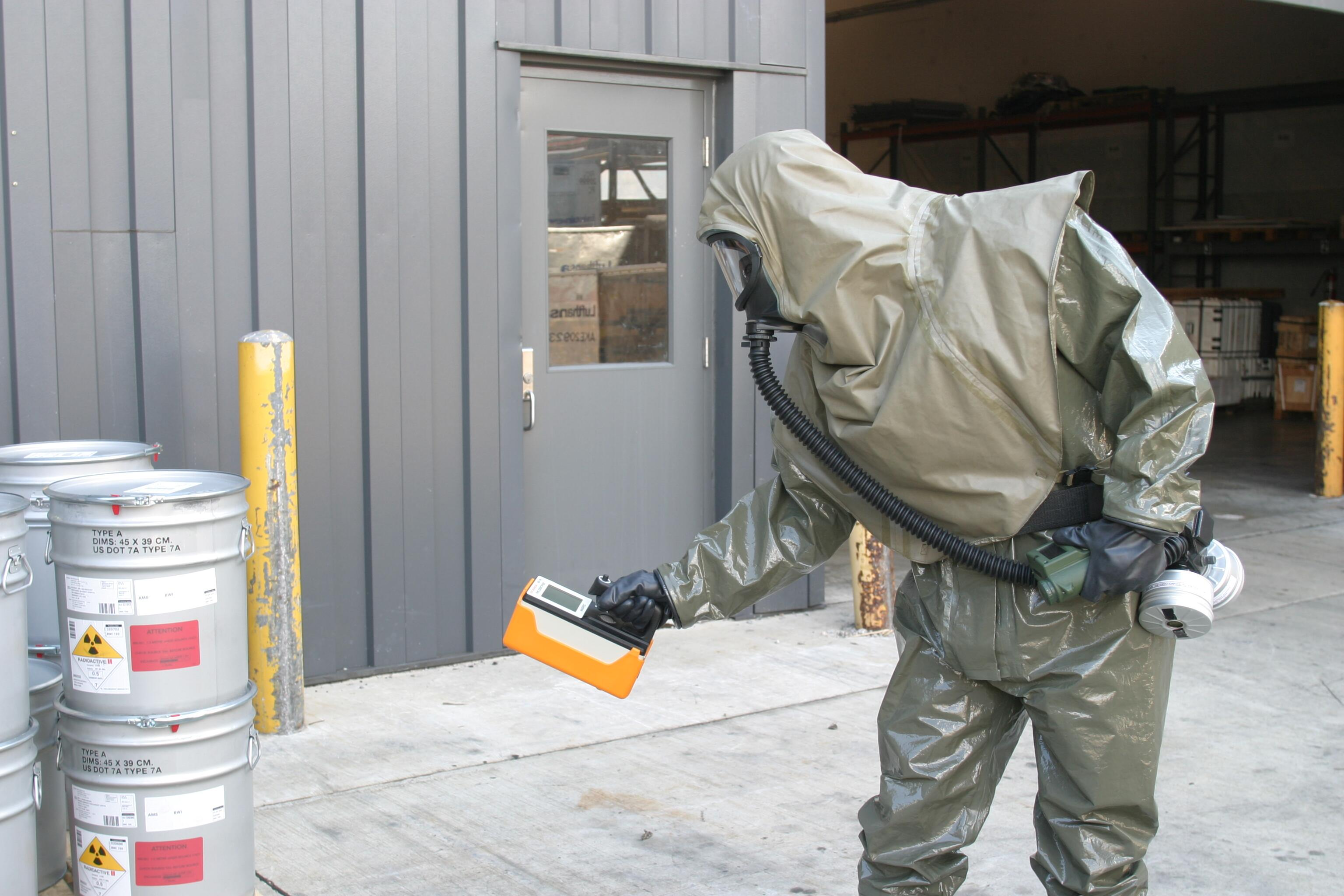 Customs and Border Protection has the capability to check and evaluate hazardous materials.