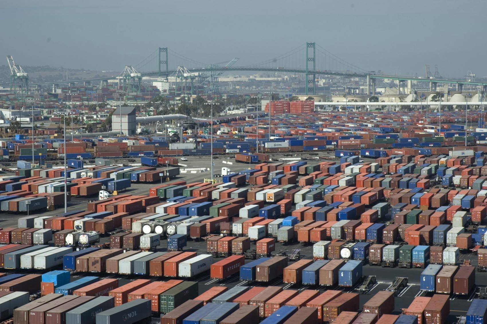 The Port of Los Angeles/Long Beach is the largest and busiest port in the U.S., handling about 45 percent of all containers incoming into Customs and Border Protection.