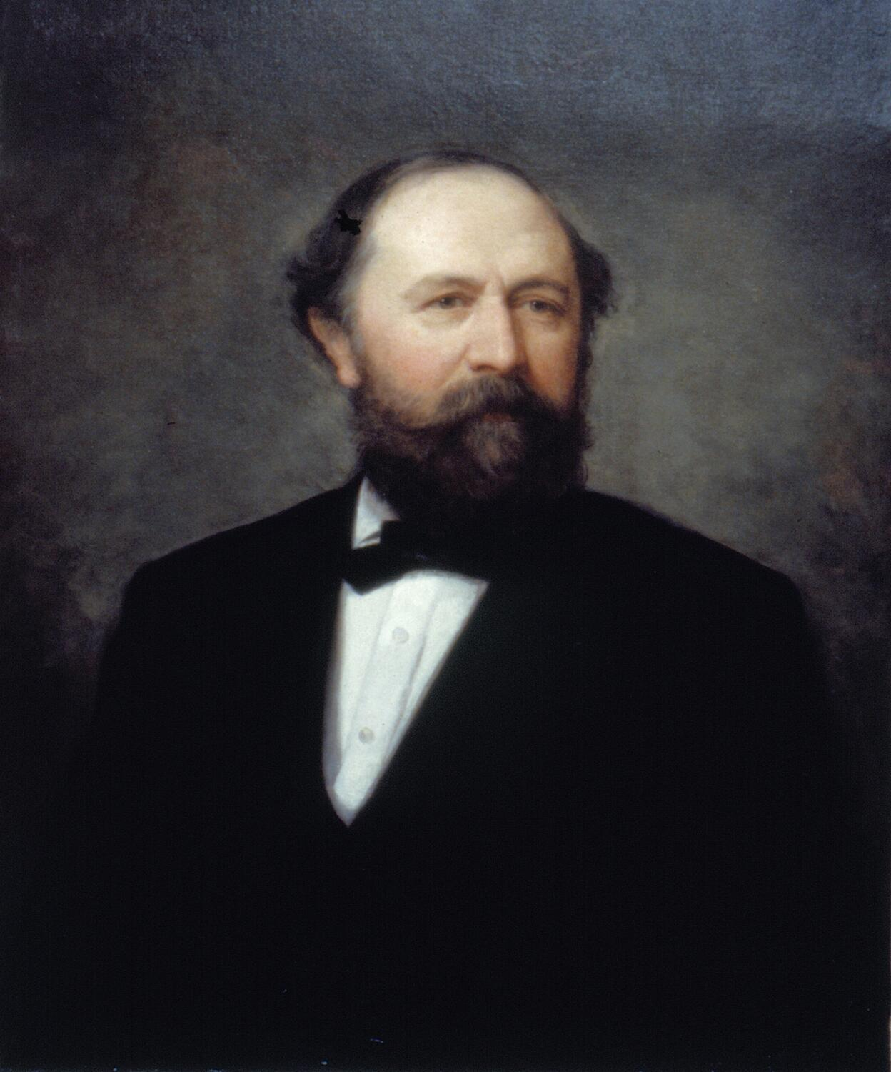 Henry A. Smythe, collector of customs for the Port of New York 1866-1869Herman Melville met Henry Smythe in Switzerland, which proved to be the means by which Melville finally managed to acquire a federal job in the New York Custom House. Smythe was appointed collector of customs for the collection district of New York on May 10, 1866. In lieu of obtaining the usual political endorsements, Melville applied for a job directly to Smythe, and he was rewarded with an appointment as a customs inspector in the surveyor's office on Dec. 5, 1866. Accused of corruption, Smythe barely managed to hold on to his collectorship and was forced out of office after four years, whereas Melville toiled on the piers for 19 years until his retirement in 1885.