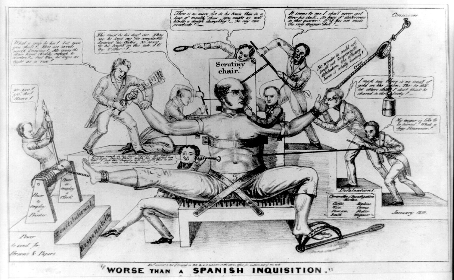 Cartoon: Inquisition