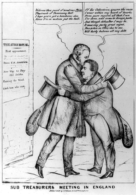 Cartoon: The Sub-Treasurers' Meeting