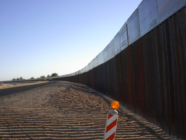 Southwest Border Fence Construction Progress U S