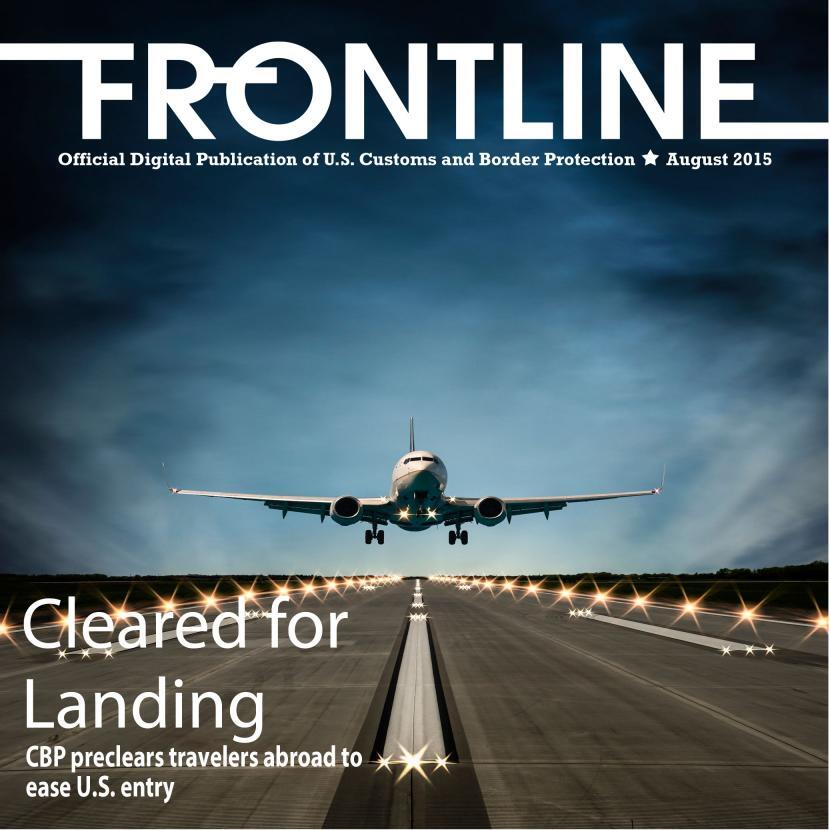 "Cover image of a plane landing with text saying, ""Cleared for Landing"""