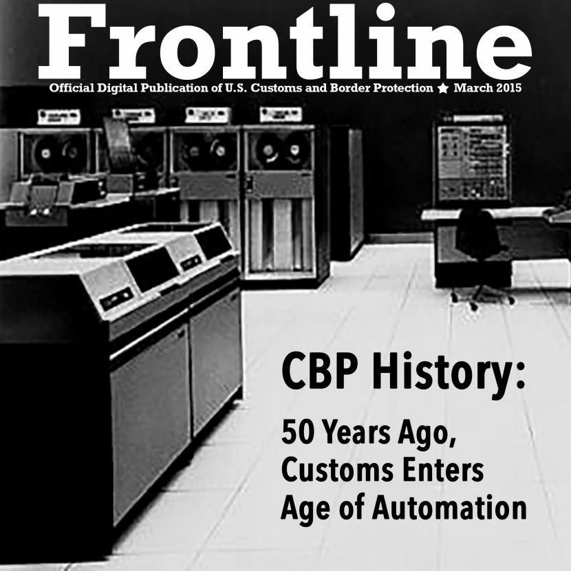 Photo of 1960's IBM mainframe computer