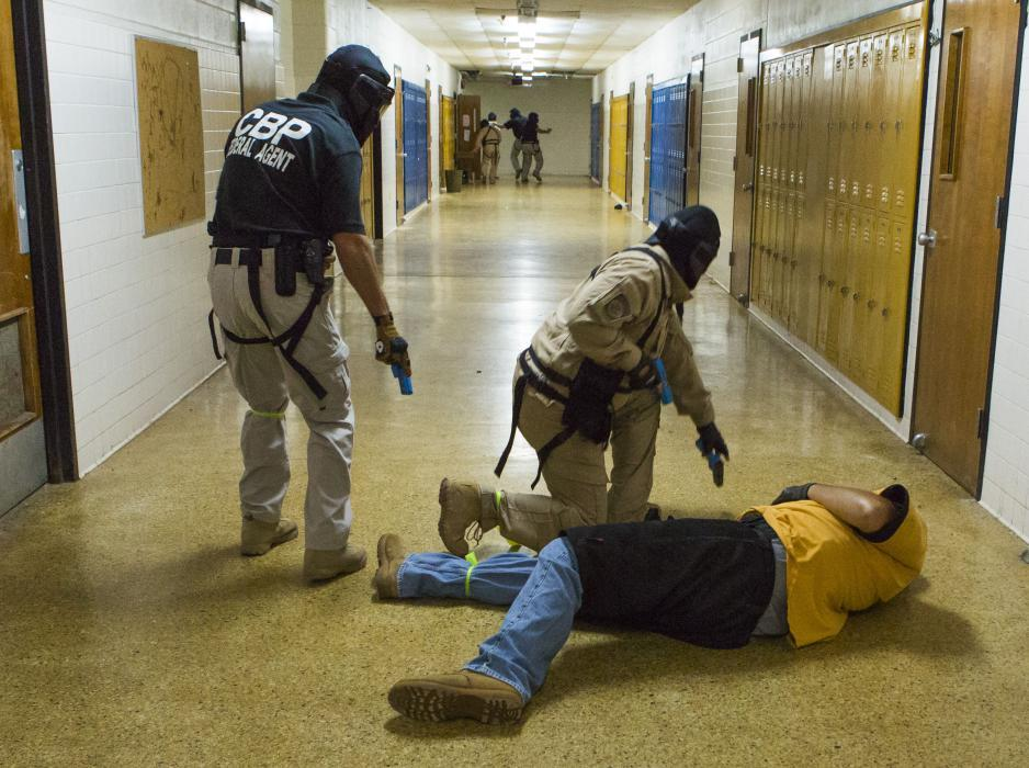 Photo of active shooter training