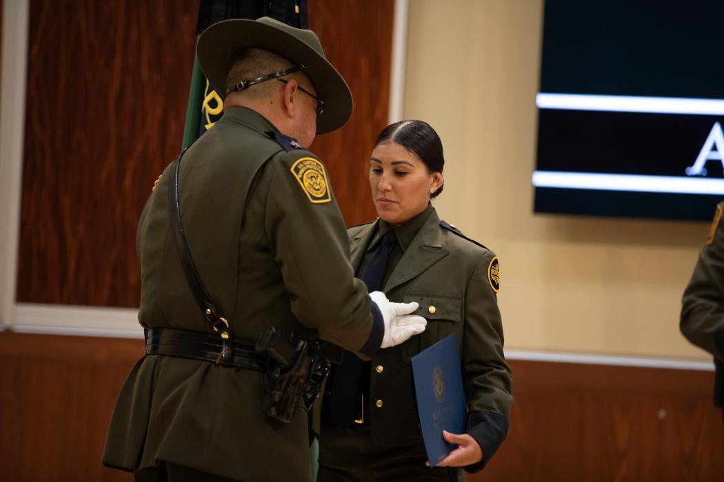 Border Patrol agent graduates