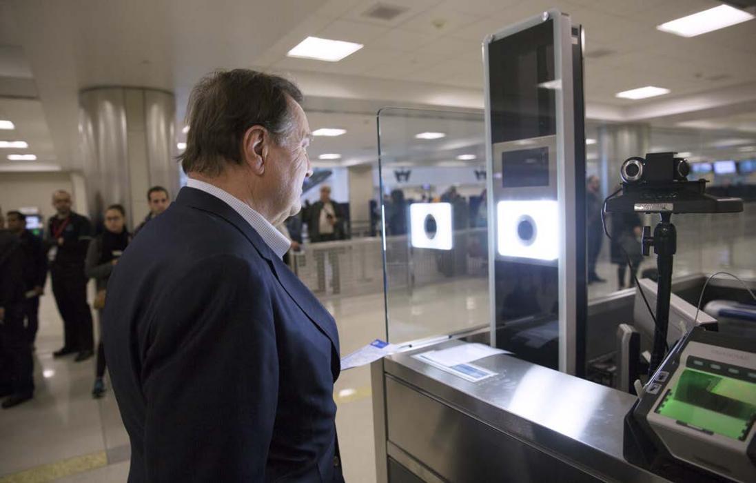 Biometric facial recognition testing