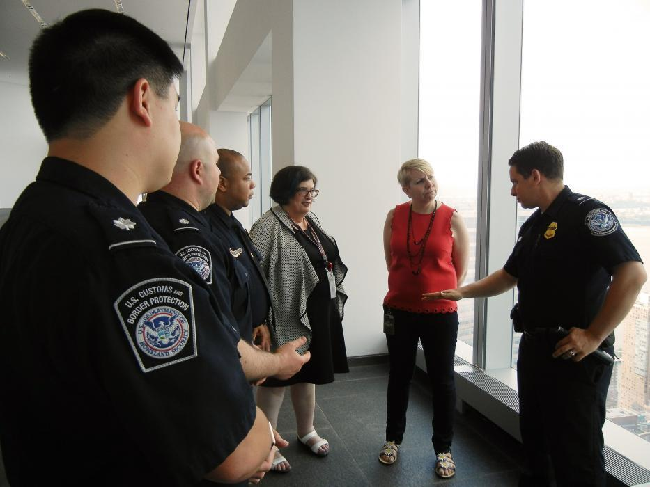 CBP employees discuss agency operations