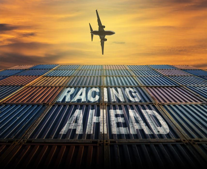 Racing ahead