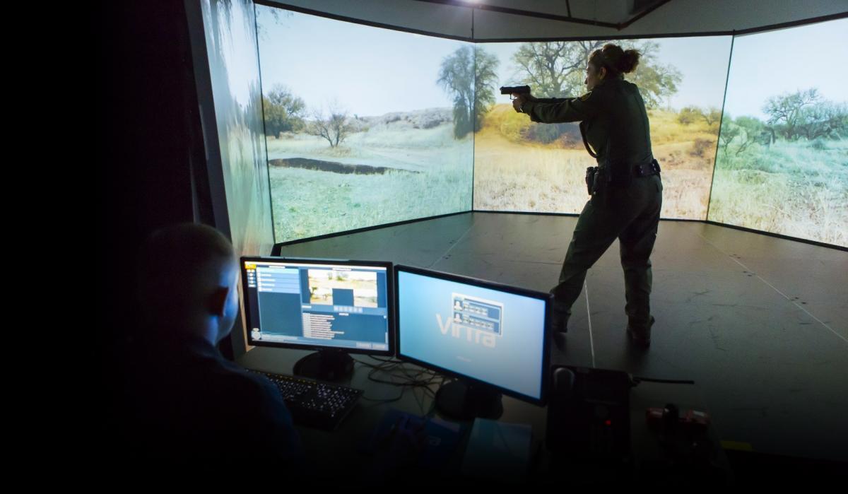 Use-of-force simulator