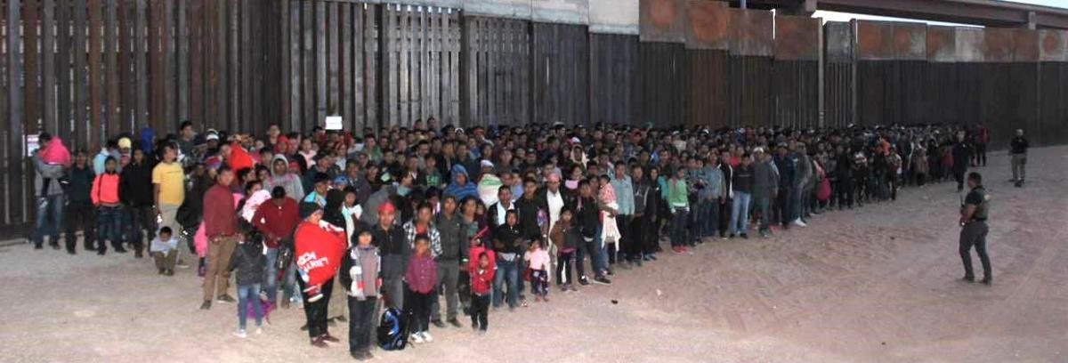 Largest group of illegal aliens ever apprehended