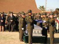 Border Patrol Agent Rogelio Martinez was laid to rest on Saturday, Nov. 25 at Restlawn Cemetery in El Paso, Texas