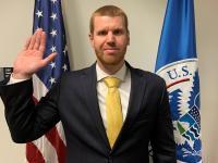 CBP Officer sworn in at Boston, MA in February 2020