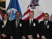 CBP Officers sworn in at Nogales, AZ in January 2020