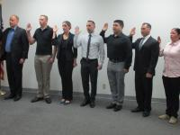 Seven CBP Officers Sworn in at San Diego Field Office