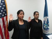 CBP Officers Sworn in at San Diego Field Office